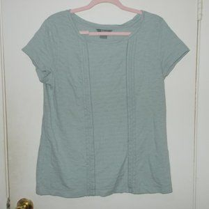 Natural Reflections Top Gray Size Large
